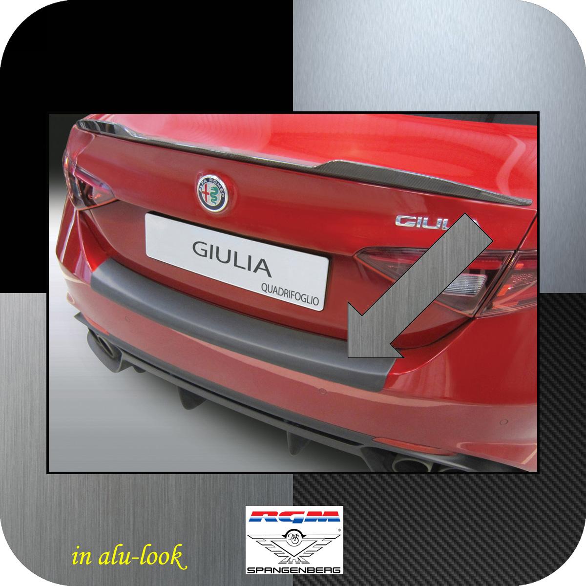 Ladekantenschutz Alu-Look Alfa Giulia Limo 952 nur Quadrifoglio 05.2016- 3504677