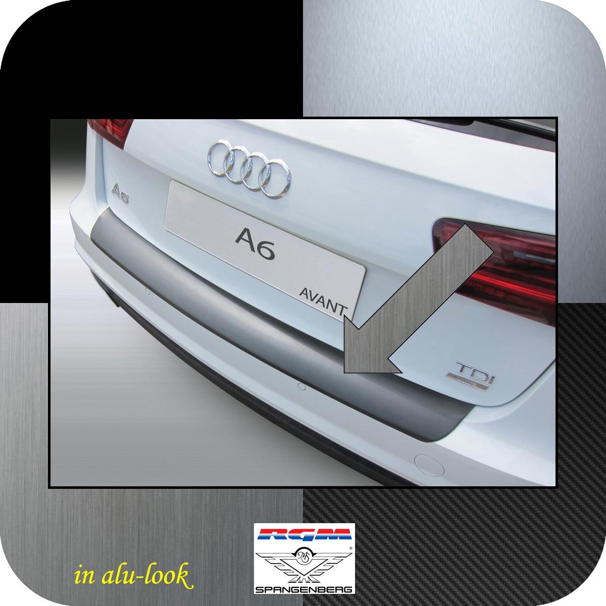 Ladekantenschutz Alu-Look Audi A6 C7 Avant auch S-Line 2016-18 not RS S6 3504679
