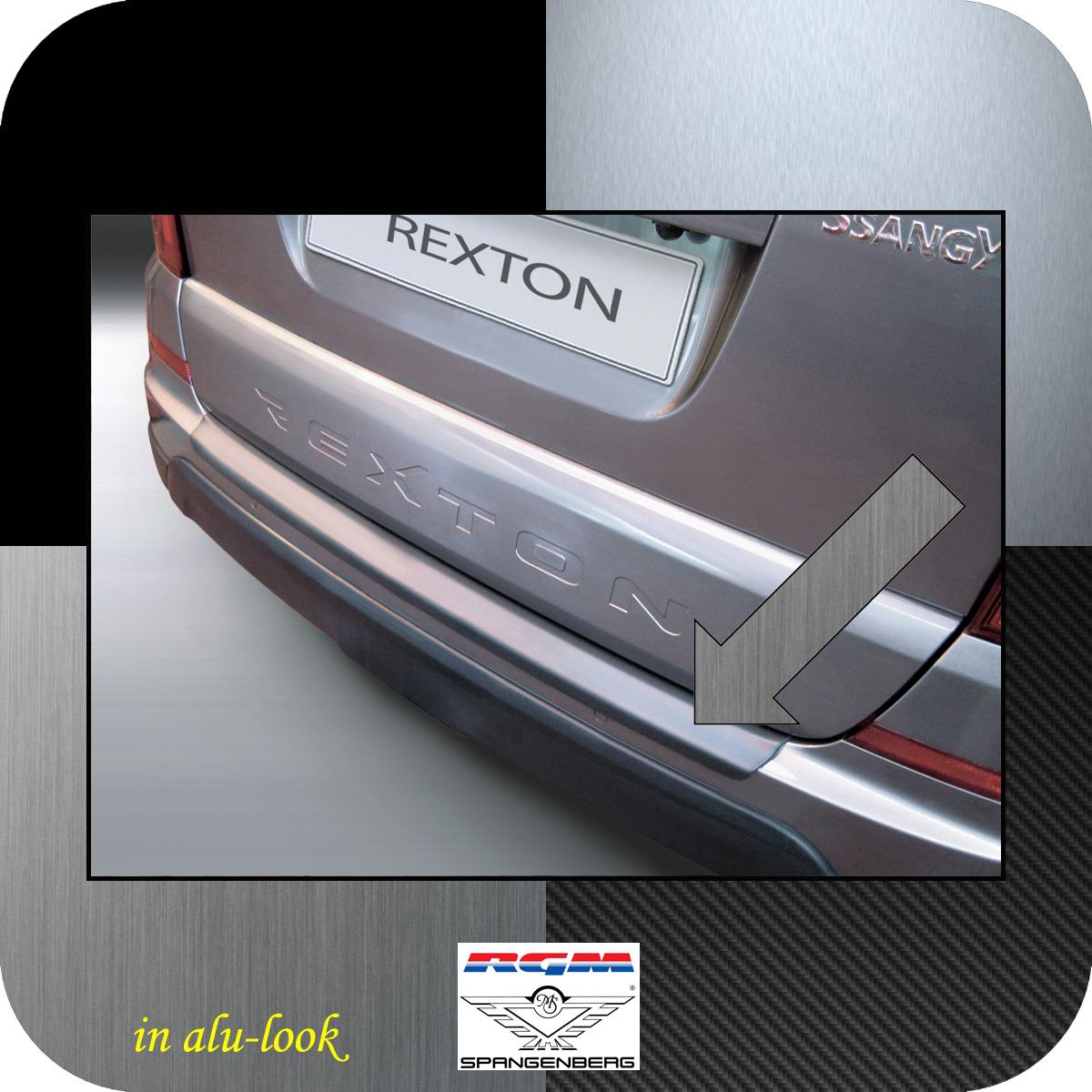 Ladekantenschutz Alu-Look SsangYong Rexton W ab Baujahr 2013- 3504703