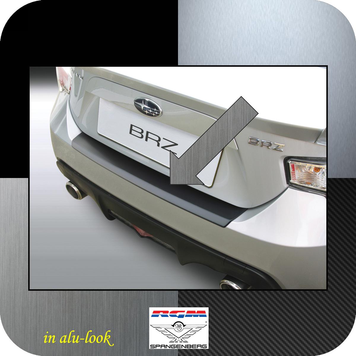 Ladekantenschutz Alu-Look Subaru BRZ Sportwagen Coupe ab Bj 2012- 3504724