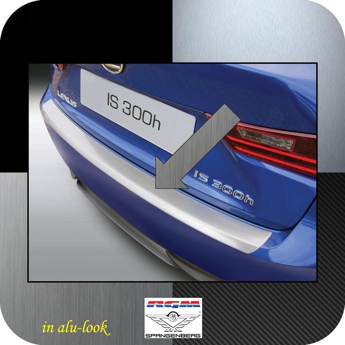 Ladekantenschutz Alu-Look Lexus IS III Limousine Baujahre 2013-2016 3504729
