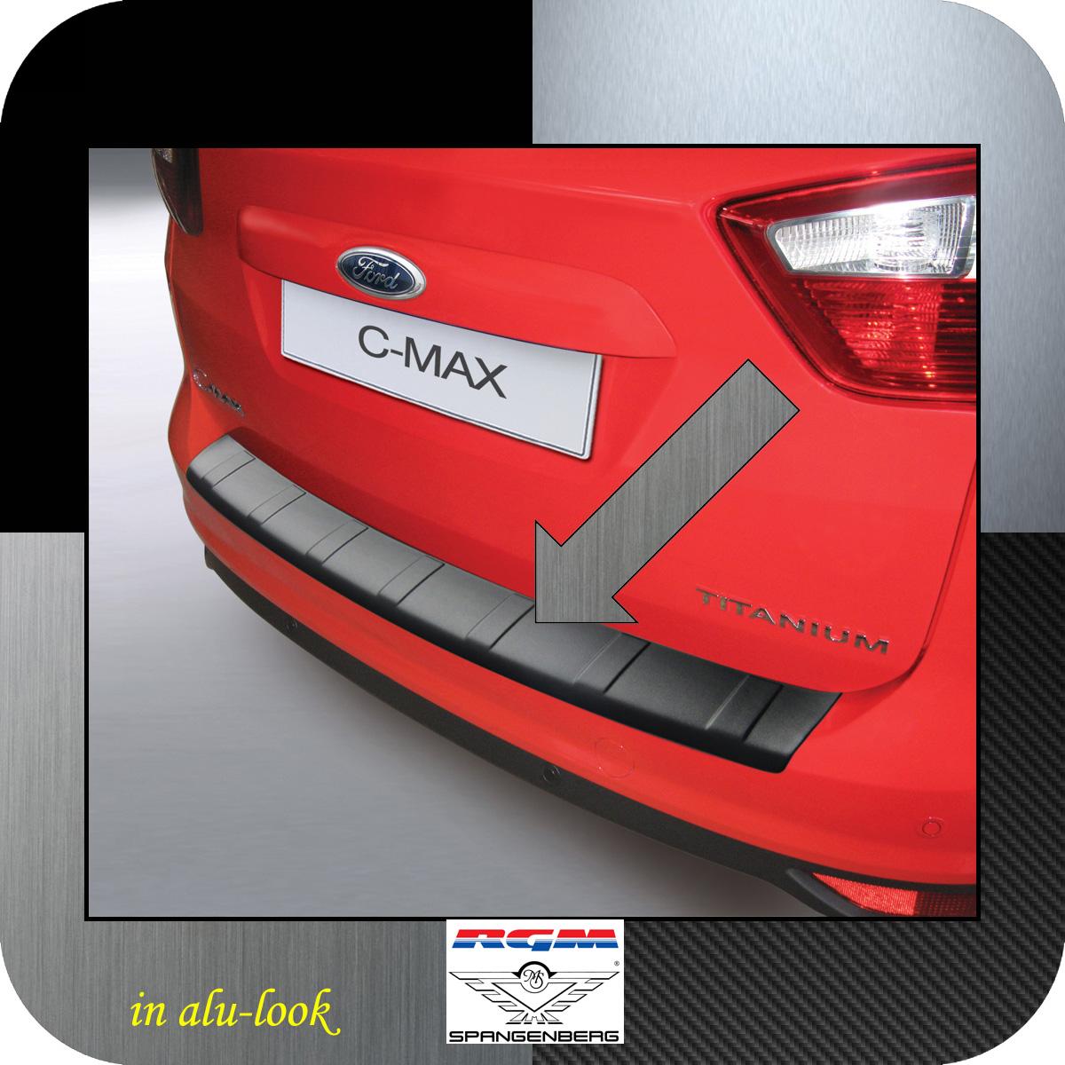 Ladekantenschutz Alu-Look Ford C-MAX II vor facelift 2010-2015 3504773