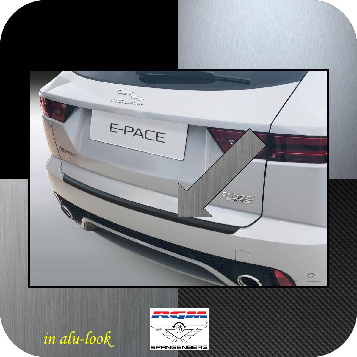 Ladekantenschutz Alu-Look Jaguar E-Pace X540 SUV ab Baujahr 09.2017- 3504794