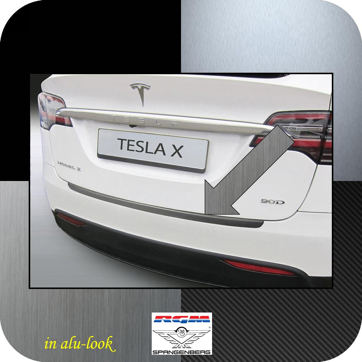 Ladekantenschutz Alu-Look Tesla Model X ab Baujahr 09.2015- 3504800