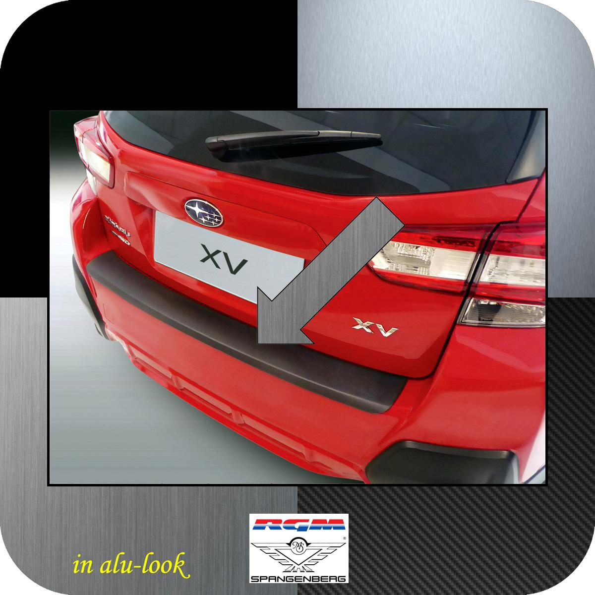 Ladekantenschutz Alu-Look für Subaru XV 2. Generation ab Bj. 12.2017- 3504823