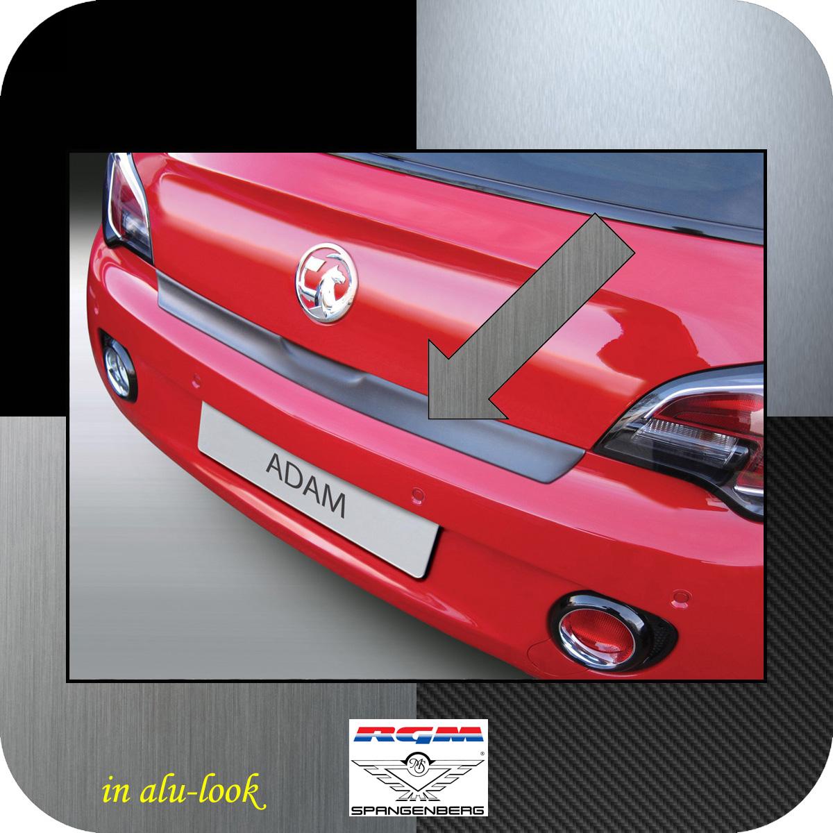 Ladekantenschutz Alu-Look Opel Adam Schrägheck 3-Türer ab Bj 2012- 3504884