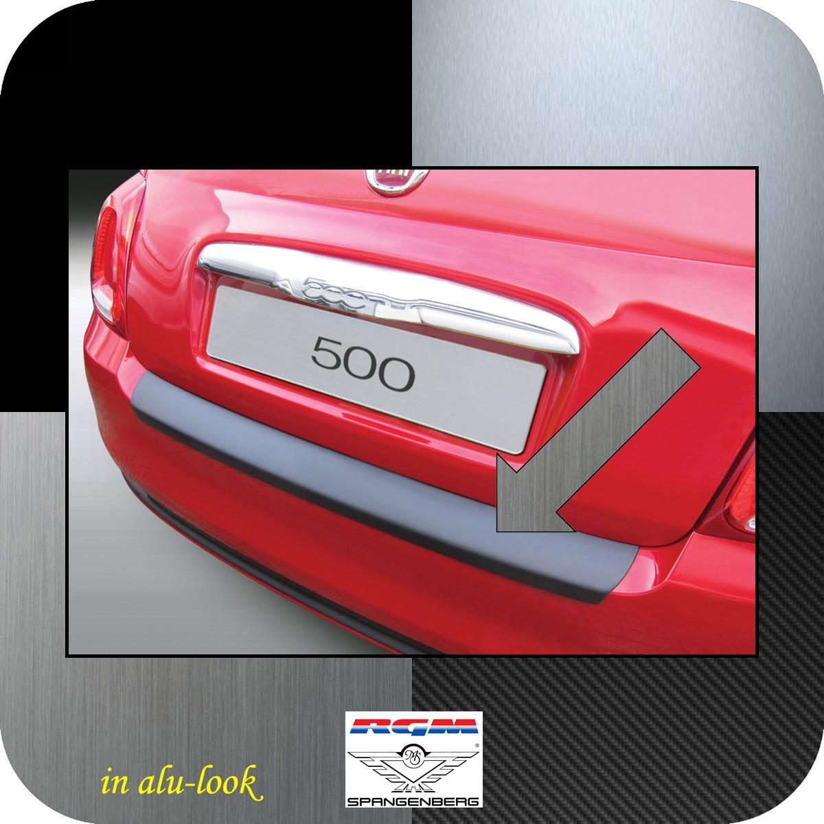 Ladekantenschutz Alu-Look Fiat 500 ab facelift Baujahr 2015- 3504914