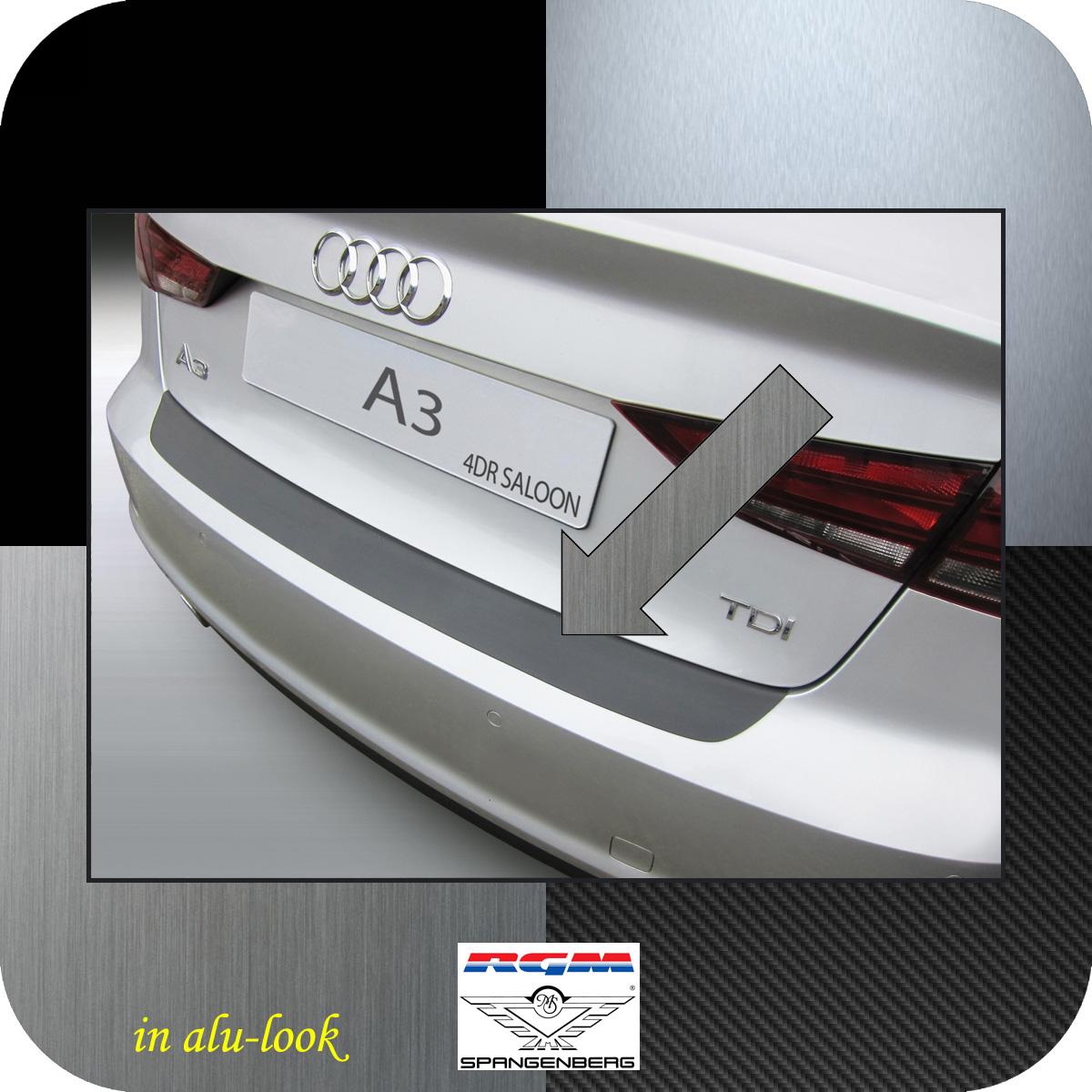 Ladekantenschutz Alu-Look Audi A3 8V Limousine 4-Türer ab Baujahr 2013- 3504926