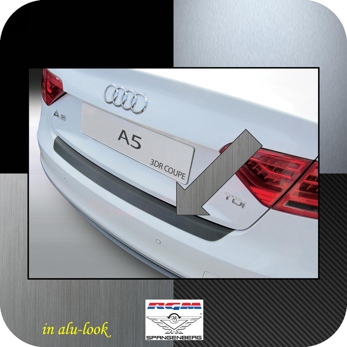 Ladekantenschutz Alu-Look Audi A5 Coupe 3-Türer Baujahre 2011-2016 3504927