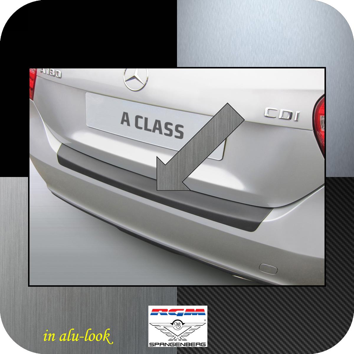 Ladekantenschutz Alu-Look Mercedes Benz A-Klasse W176 Schrägheck 2015- 3504933