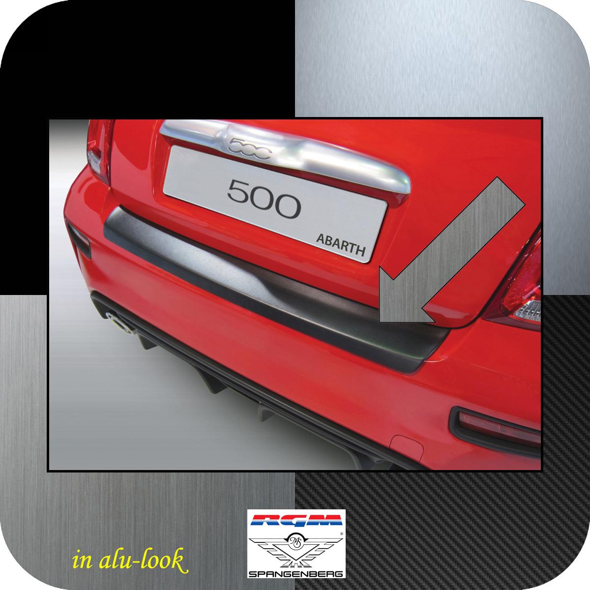 Ladekantenschutz Alu-Look Fiat 500 nur Modelle Abarth ab Baujahr 2016- 3504935