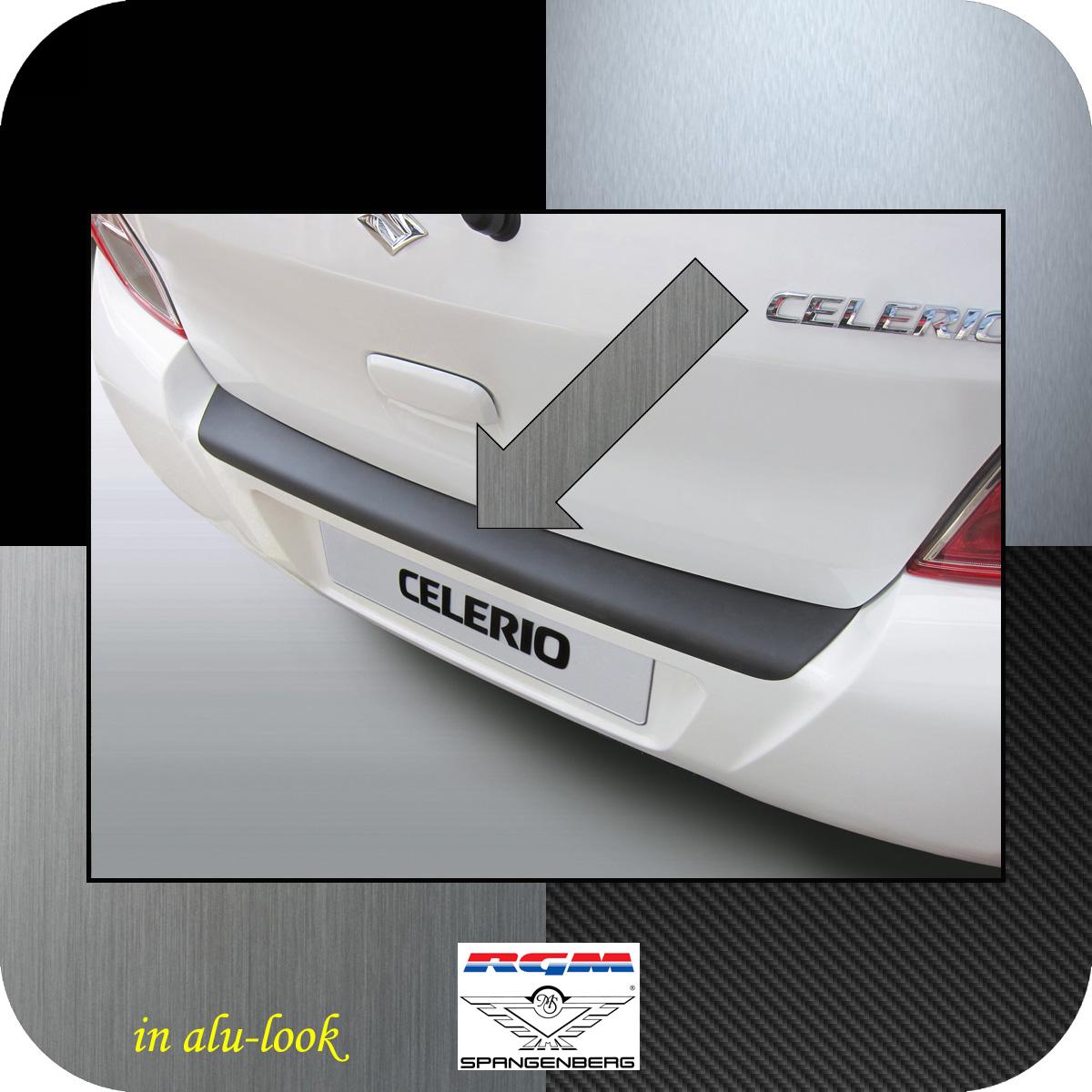 Ladekantenschutz Alu-Look Suzuki Celerio Schrägheck ab Baujahr 03.2014- 3504937