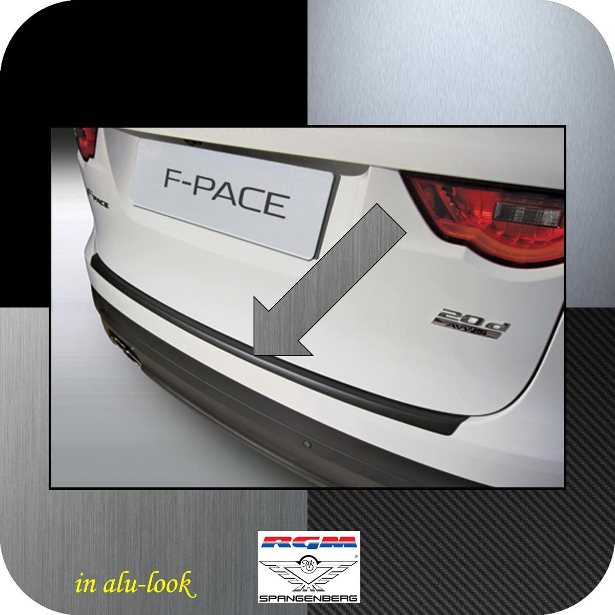 Ladekantenschutz Alu-Look Jaguar F-Pace SUV Kombi ab Baujahr 2015- 3504942