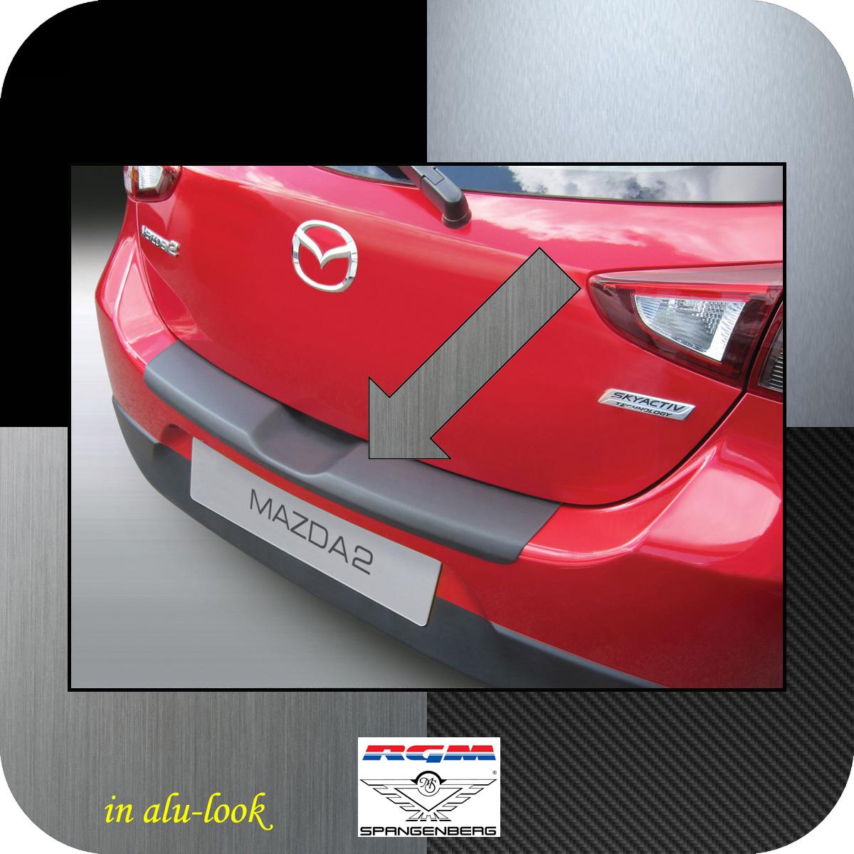Ladekantenschutz Alu-Look Mazda 2 DJ Schrägheck 3- und 5-Türer ab 11.14- 3504955