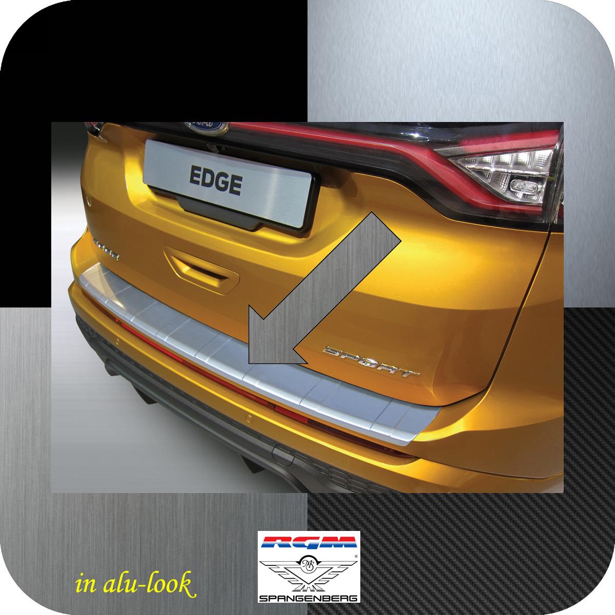 Ladekantenschutz Alu-Look gerippt Ford Edge II vor facelift 2016-18 3504965