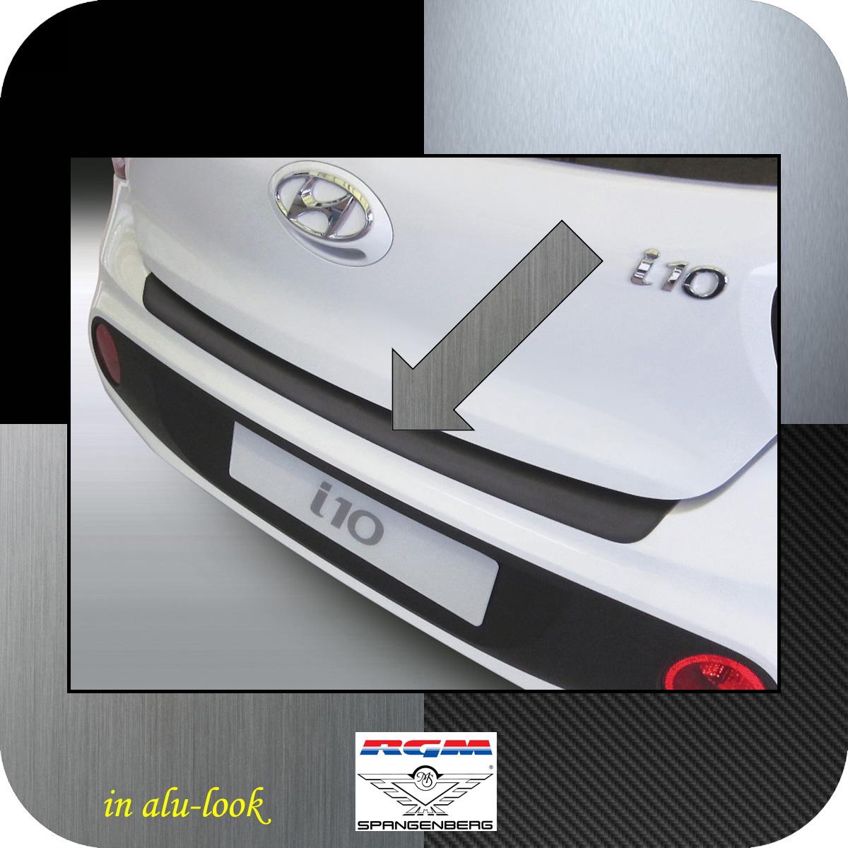 Ladekantenschutz Alu-Look Hyundai i10 Schrägheck ab Baujahr 2017- 3504972