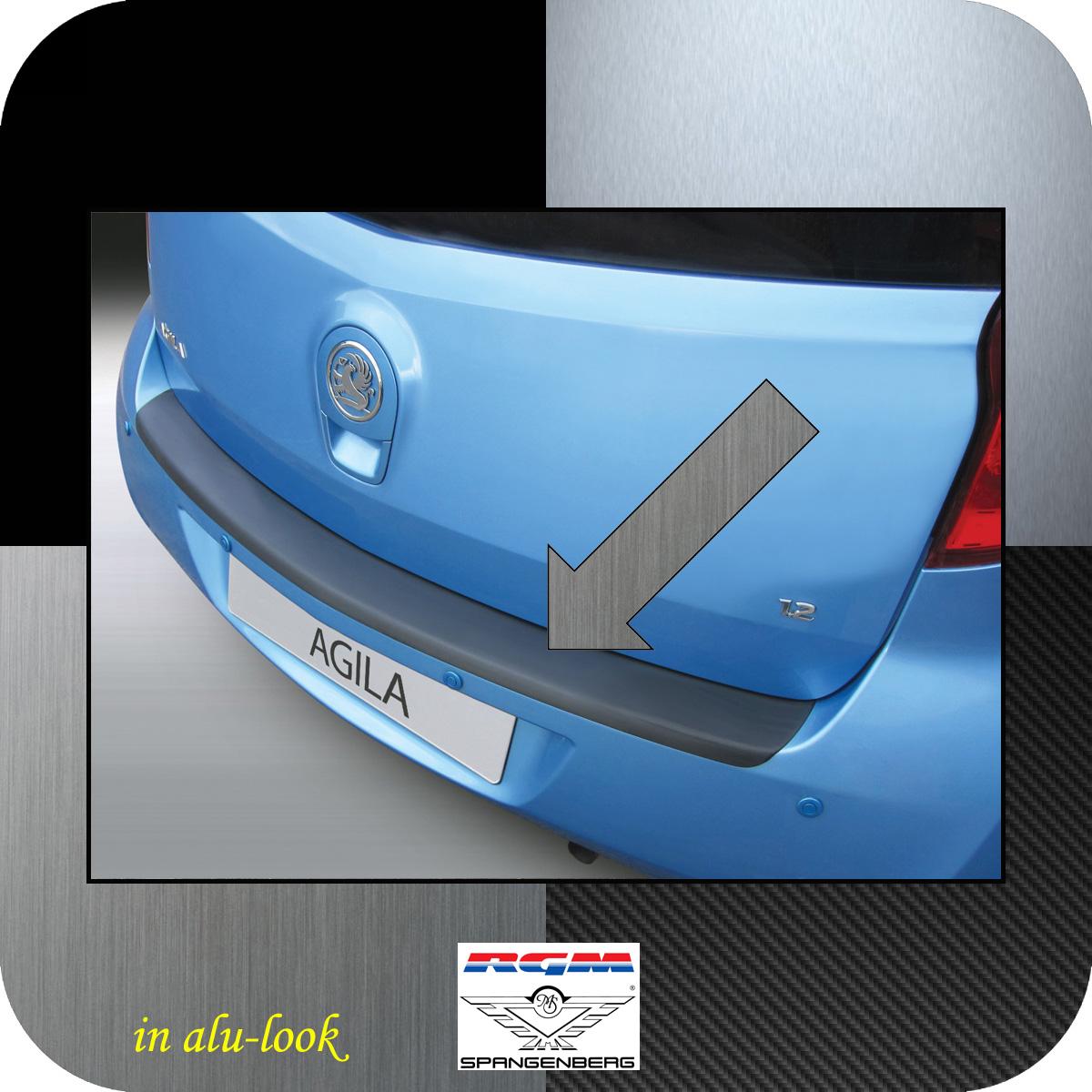 Ladekantenschutz Alu-Look Opel Agila B Minivan Baujahre 03.2008-06.2015 3504994