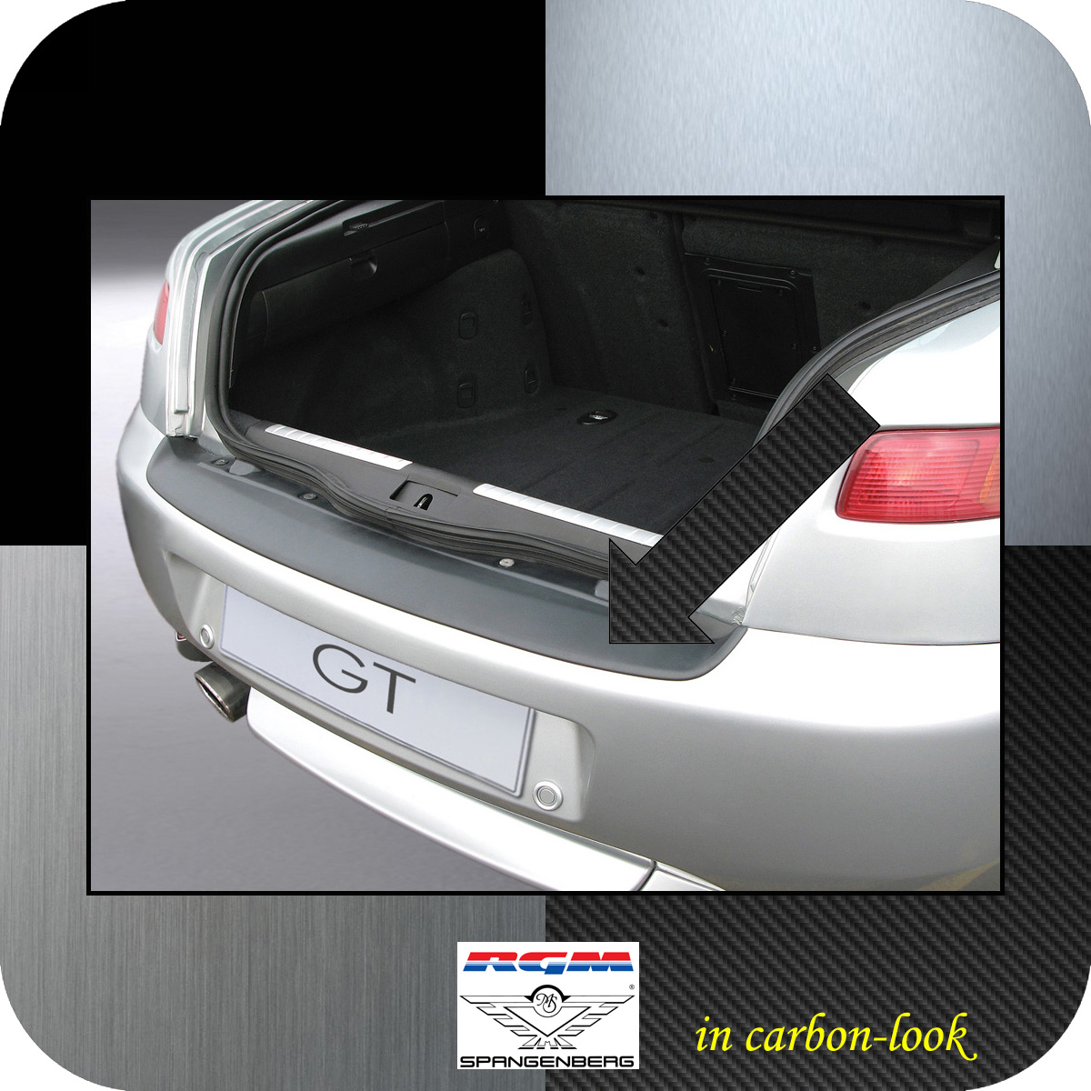 Ladekantenschutz Carbon-Look Alfa Romeo GT Sportcoupe 3-Türer ab 2003- 3509130