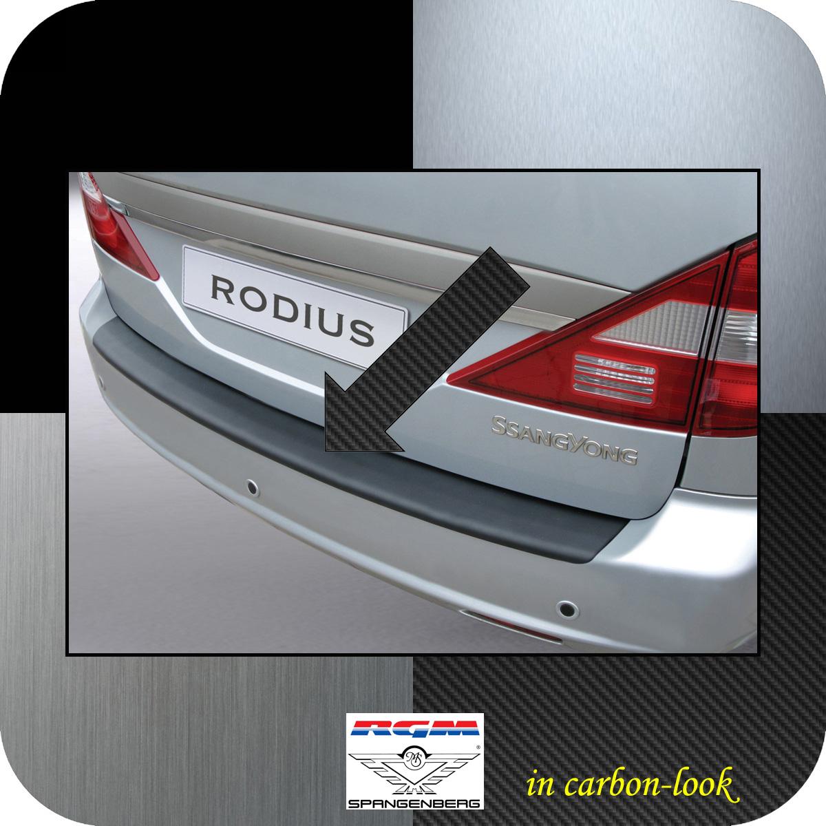 Ladekantenschutz Carbon-Look SsangYong Rodius I Van 5-Türer 2005-2013 3509153