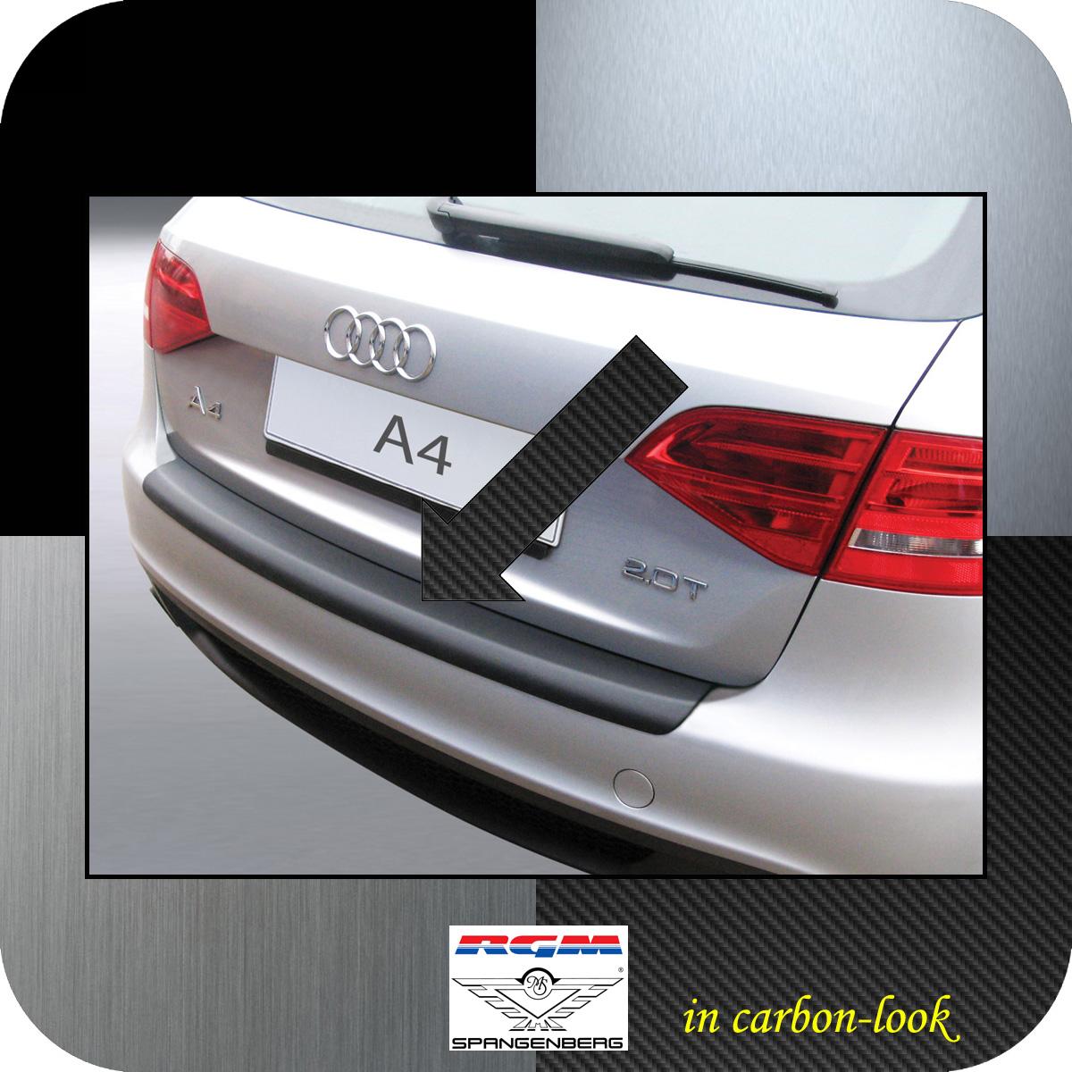 Ladekantenschutz Carbon-Look Audi A4 B8 Avant Kombi vor facelift 2008-11 3509159