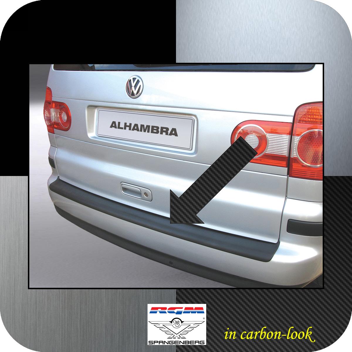 Ladekantenschutz Carbon-Look Seat Alhambra I Van Kombi ab Mopf 2000-10 3509232