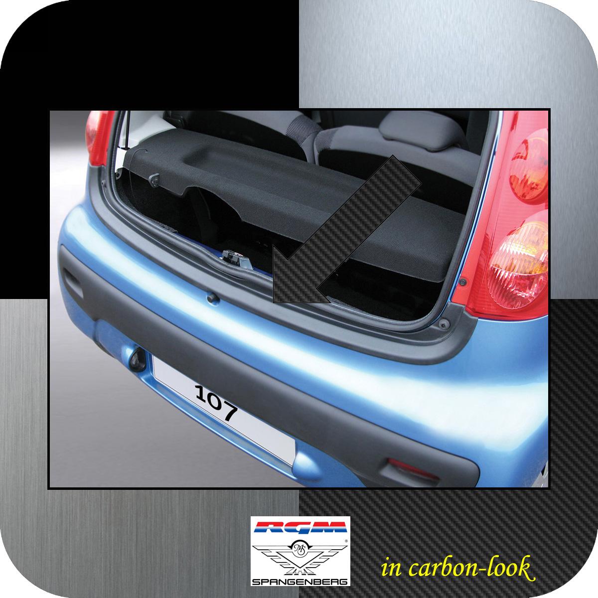 Ladekantenschutz Carbon-Look Peugeot 107 Schrägheck ab Baujahr 2005- 3509290