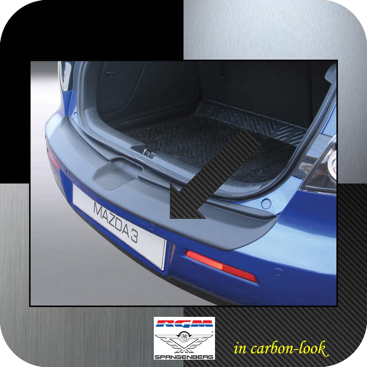 Ladekantenschutz Carbon-Look Mazda3 I Axela Schrägheck ab Mopf 2006-09 3509313