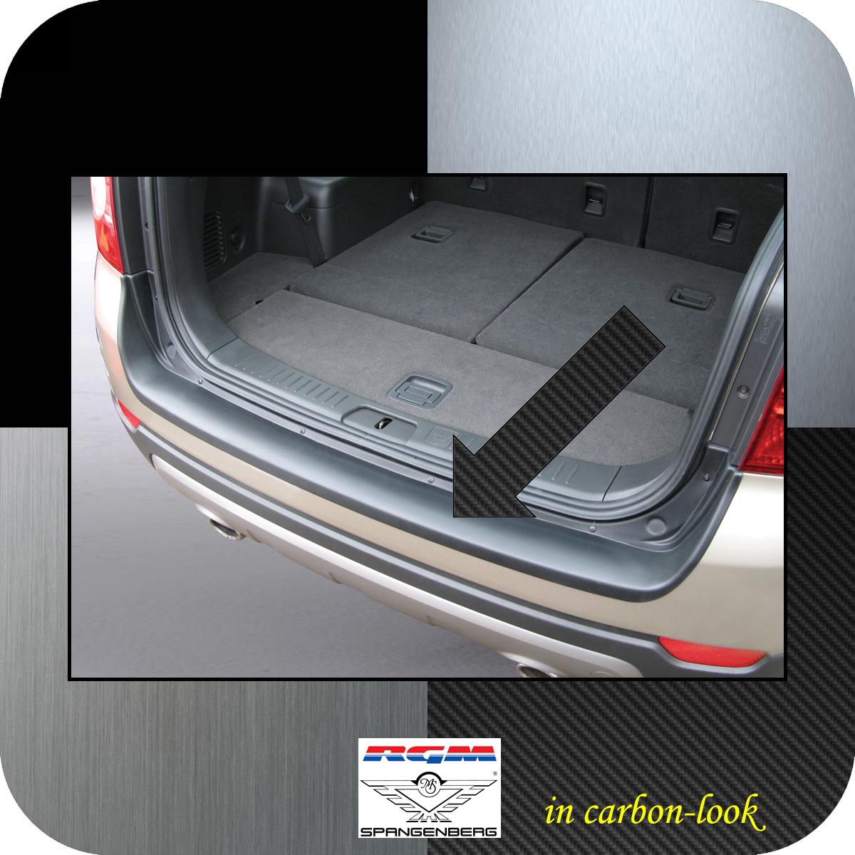 Ladekantenschutz Carbon-Look Chevrolet Captiva SUV 4X4 vor Mopf 2006-13 3509322