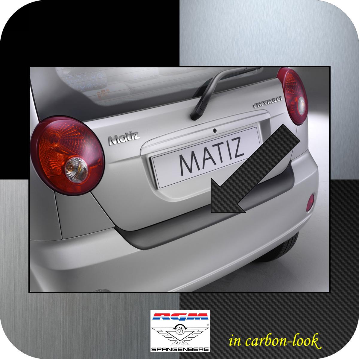 Ladekantenschutz Carbon-Look Chevrolet Matiz Spark Schrägheck bis 2010 3509326