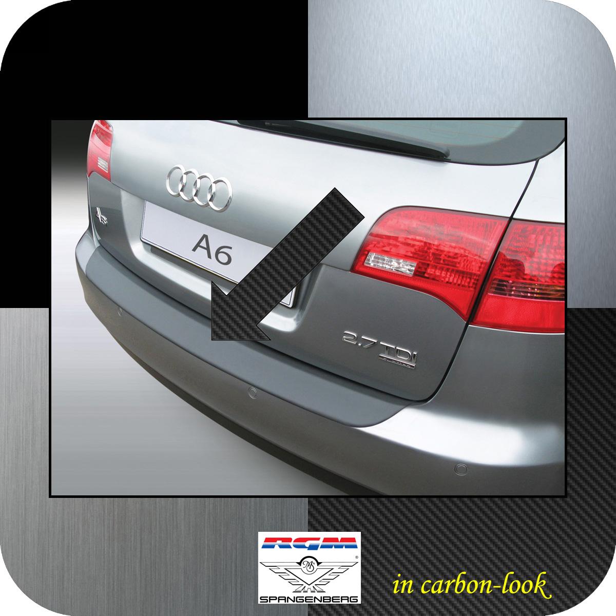Ladekantenschutz Carbon-Look Audi A6 C6 Avant auch Allroad Kombi 2005-11 3509341