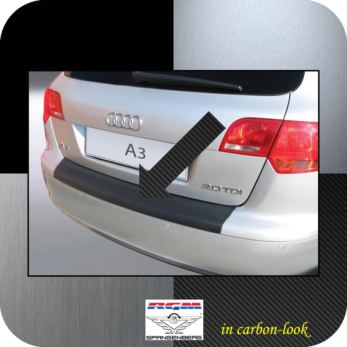 Ladekantenschutz Carbon-Look Audi A3 Sportback vor facelift 2004-2008 3509361