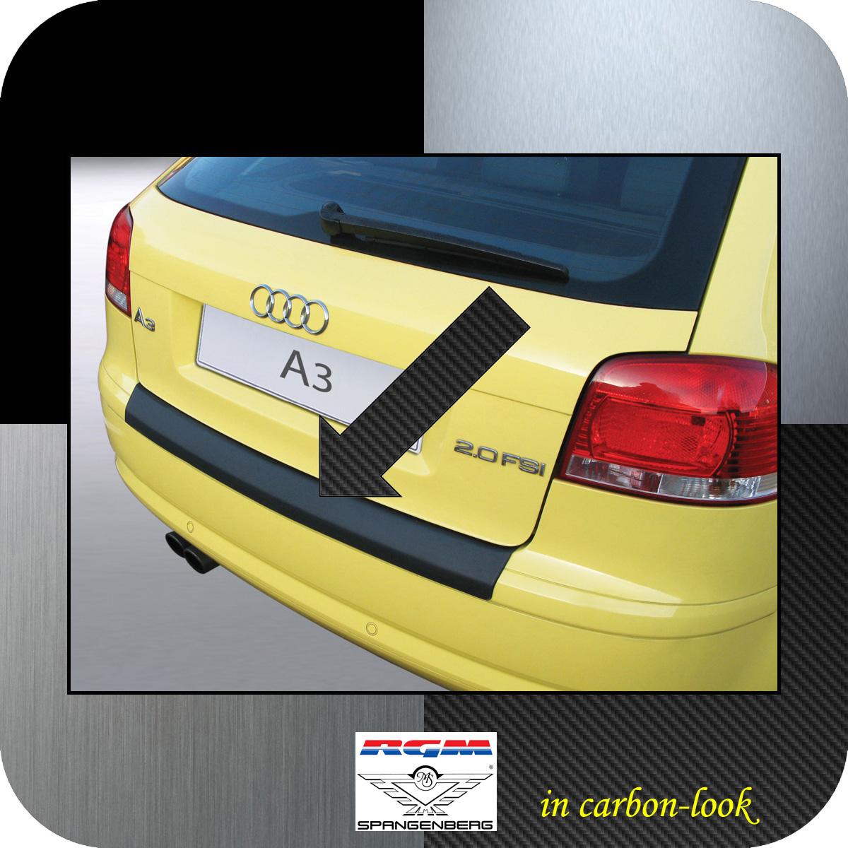 Ladekantenschutz Carbon-Look Audi A3 Schrägheck vor facelift II 2003-08 3509366