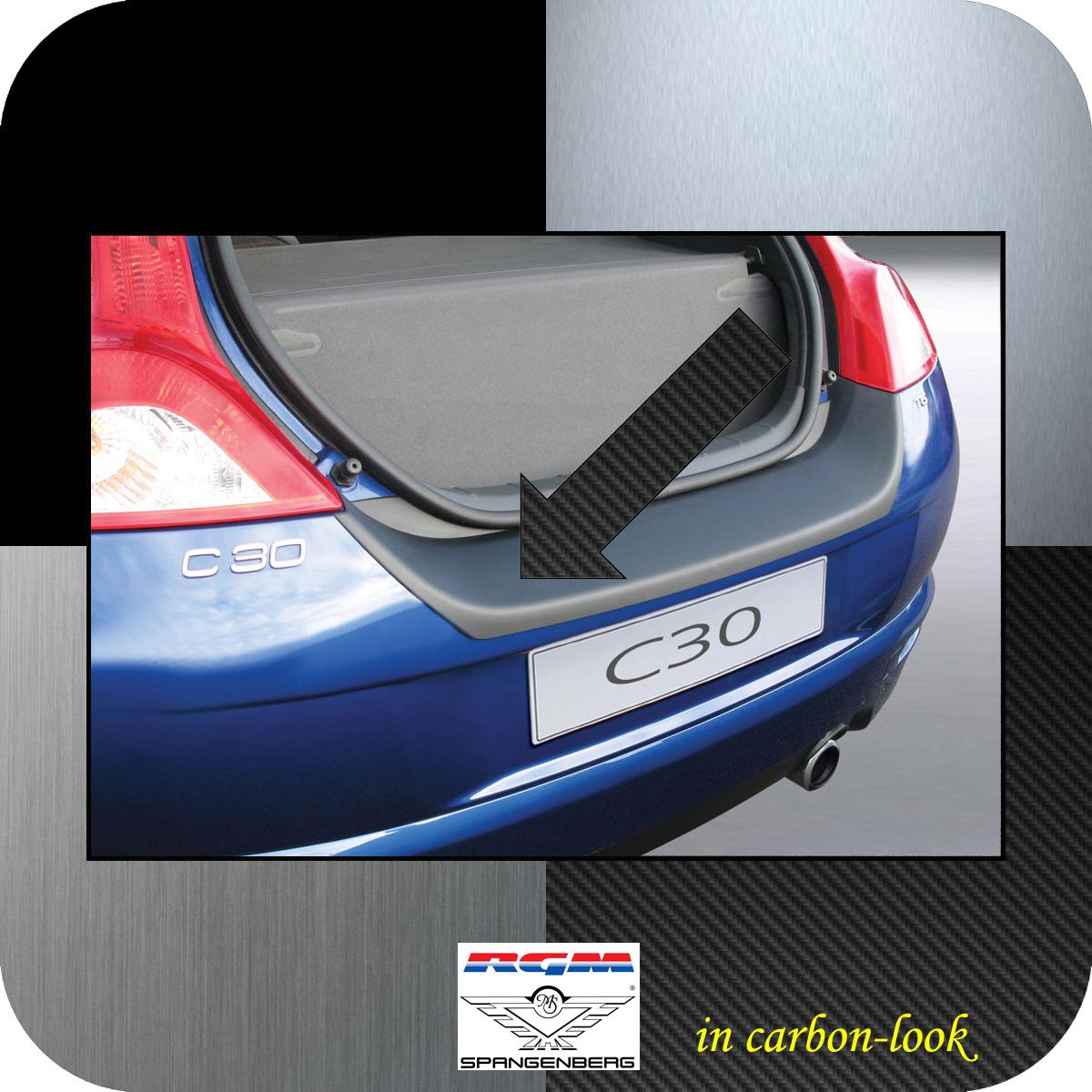 Ladekantenschutz Carbon-Look Volvo C30 Kombicoupe 3-Türer 2006-2012 3509410