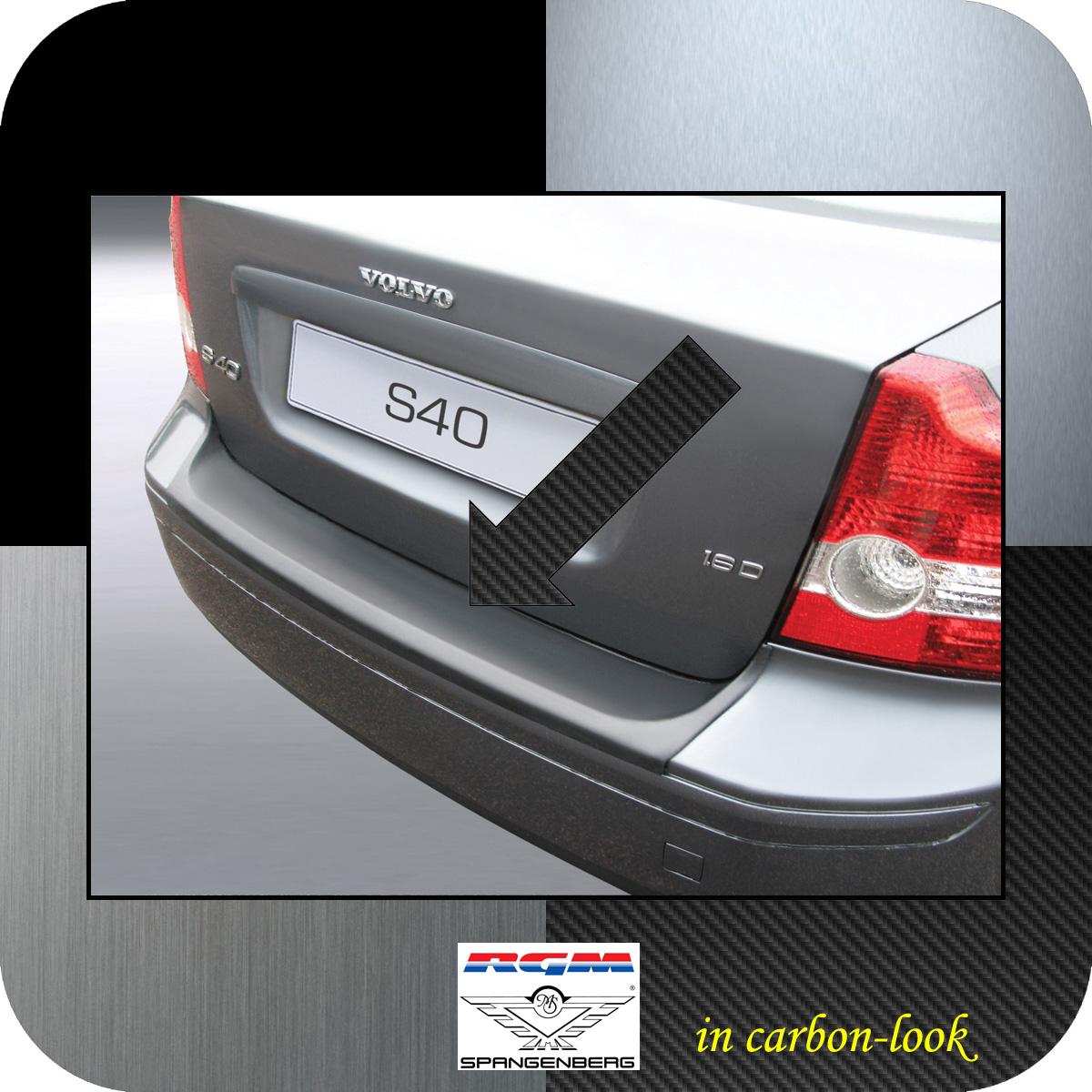 Ladekantenschutz Carbon-Look Volvo S40 II Limousine vor Mopf 2004-2007 3509417
