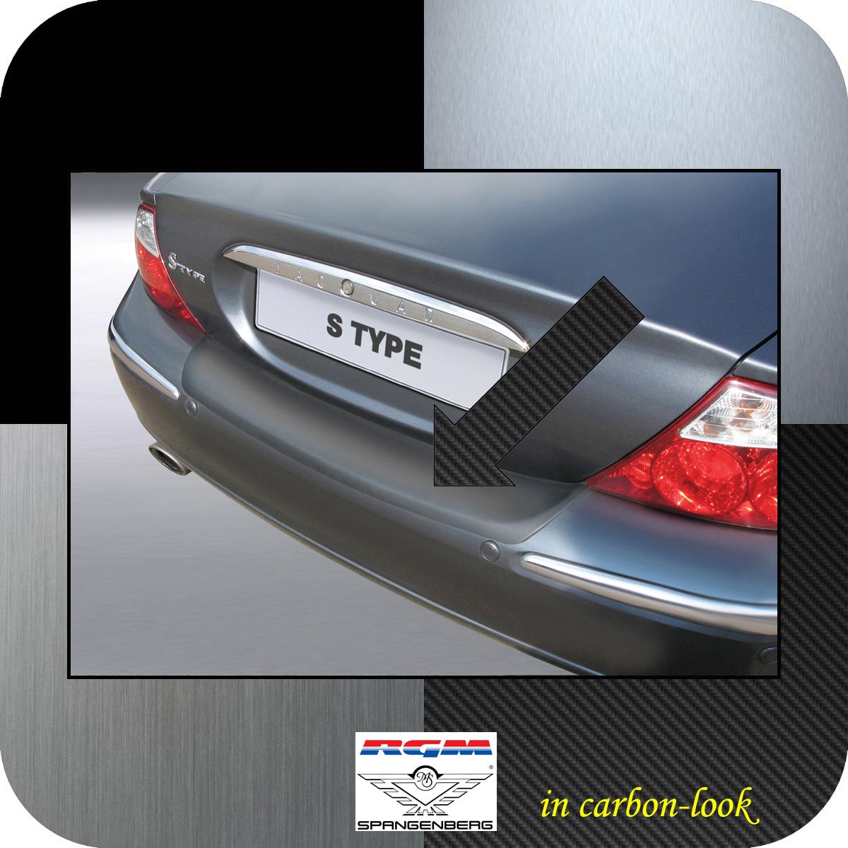 Ladekantenschutz Carbon-Look Jaguar S-Type Limousine vor Mopf II 1999-04 3509425