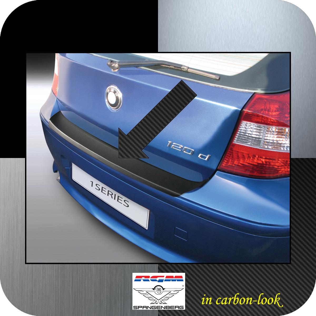 Ladekantenschutz Carbon-Look BMW 1er E81 E87 Schrägheck vor Mopf 2003-07 3509441