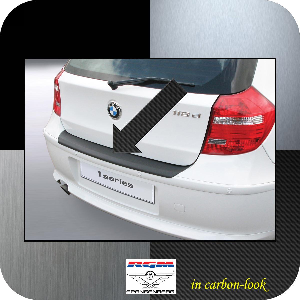 Ladekantenschutz Carbon-Look BMW 1er E81 E87 Schrägheck ab Mopf 2007-12 3509453