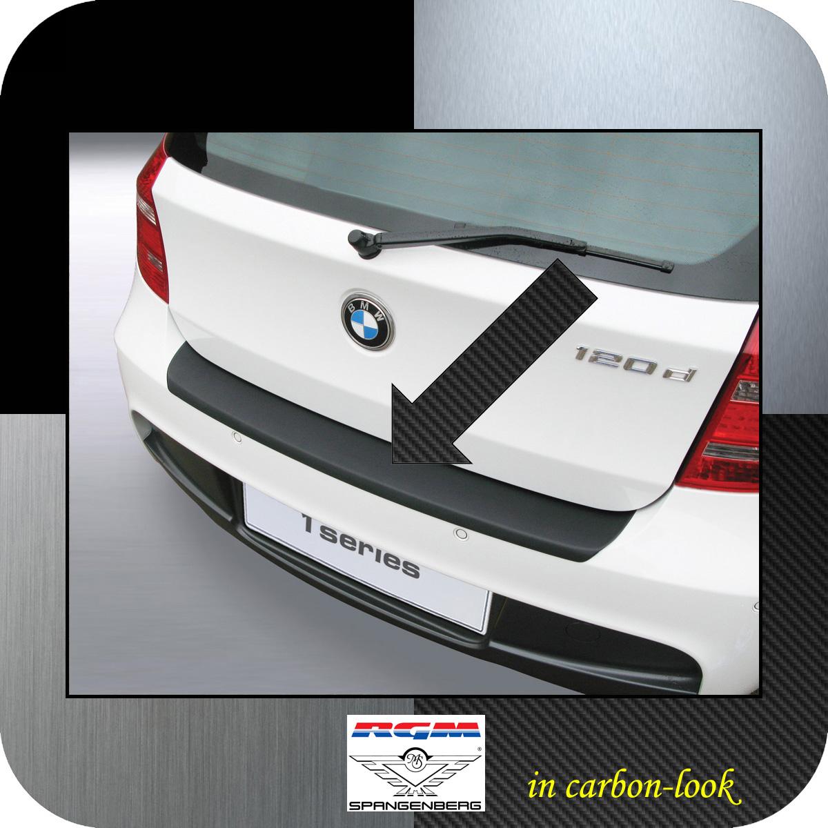 Ladekantenschutz Carbon-Look BMW 1er E81 E87 M-Style ab facelift 2007-12 3509457