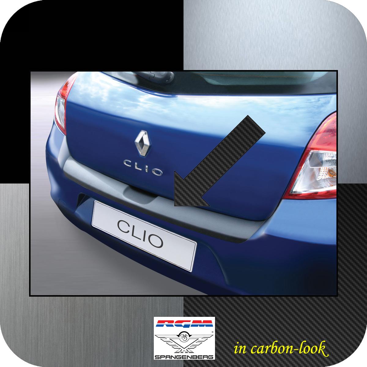 Ladekantenschutz Carbon-Look Renault Clio 3 III ab facelift 2009-2012 3509471