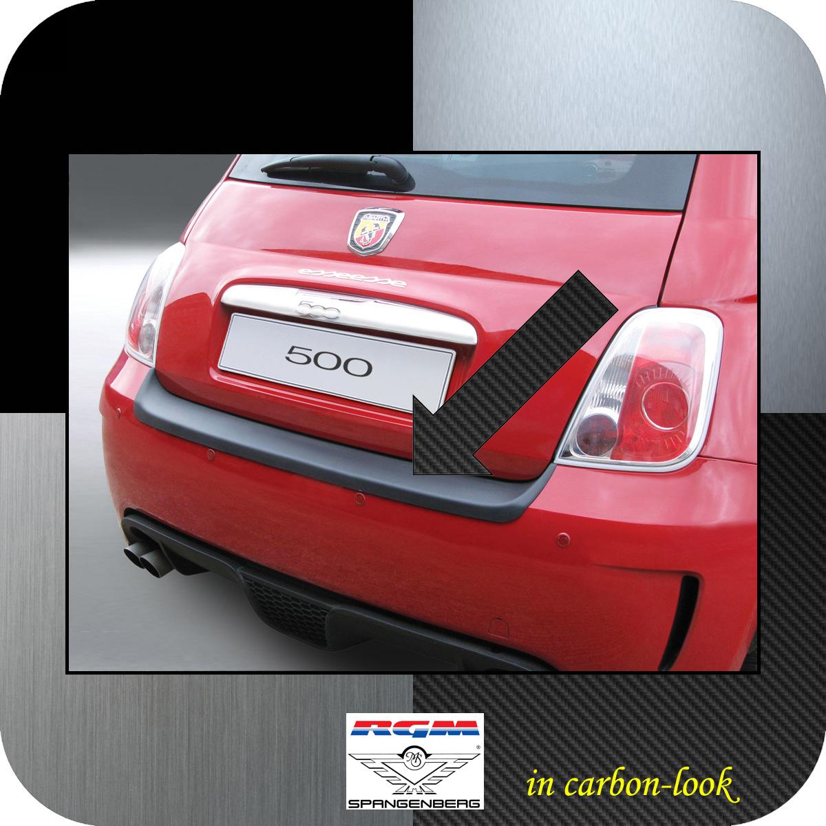Ladekantenschutz Carbon-Look Fiat 500 Version Abarth bis Baujahr 2016 3509476