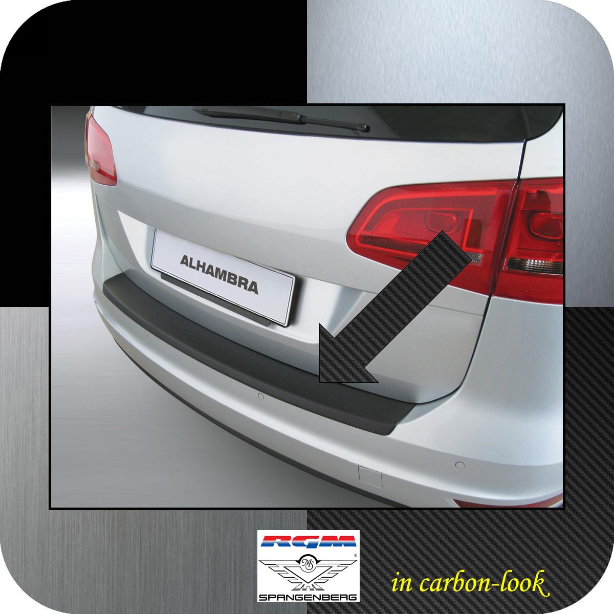 Ladekantenschutz Carbon-Look Seat Alhambra II Van Kombi ab Baujahr 2010- 3509487