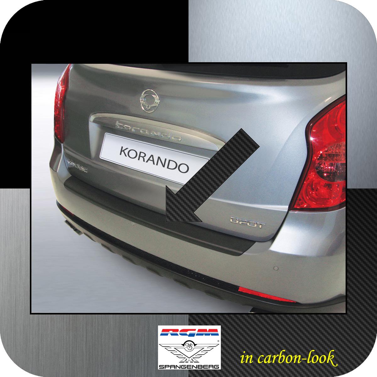 Ladekantenschutz Carbon-Look SsangYong Korando SUV Kombi ab Bauj 2010- 3509489
