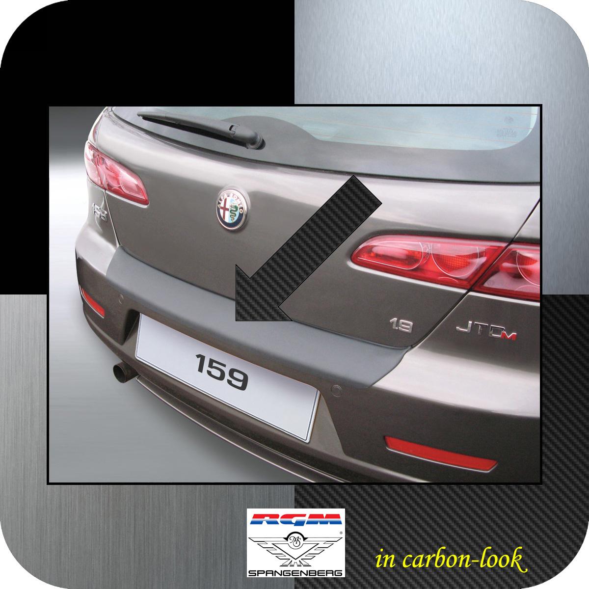 Ladekantenschutz Carbon-Look Alfa Romeo 159 Sportwagon Kombi 2006-2011 3509499