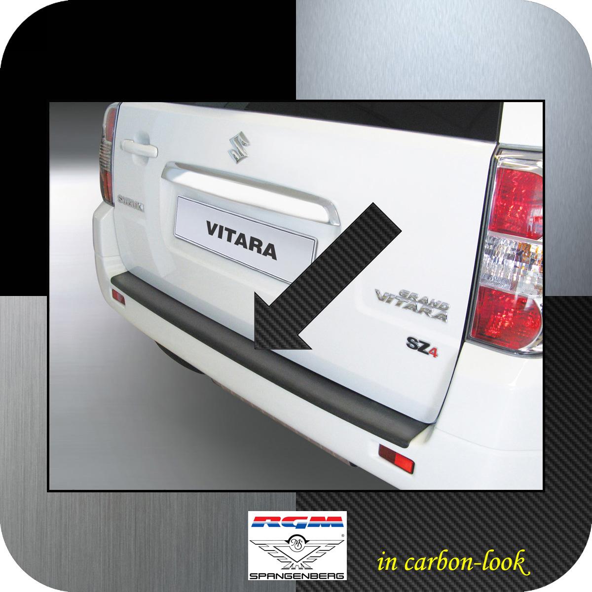Ladekantenschutz Carbon-Look Suzuki Grand Vitara II ohne Radhalter 05-15 3509505