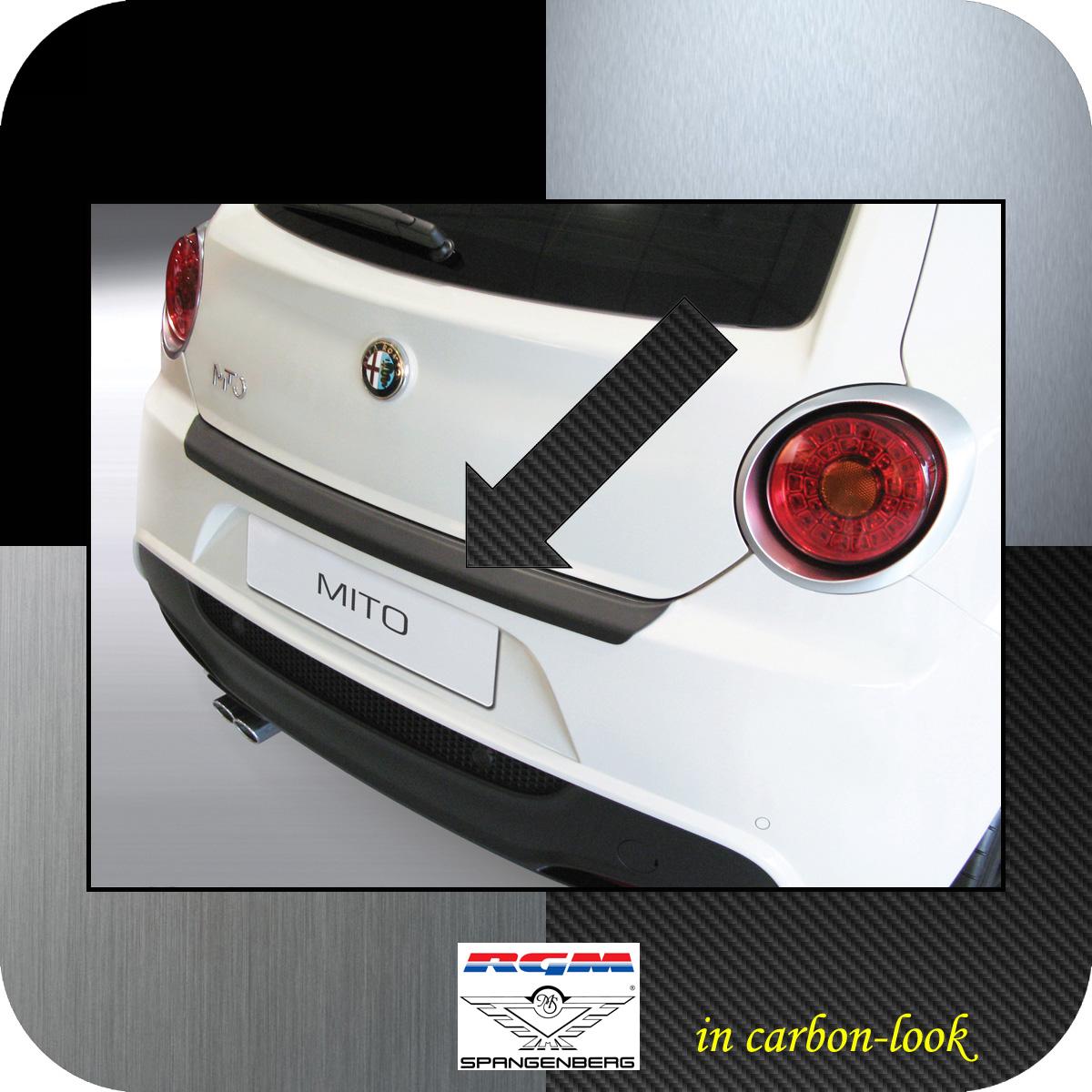 Ladekantenschutz Carbon-Look Alfa Romeo Mito Schrägheck ab Baujahr 2008- 3509546
