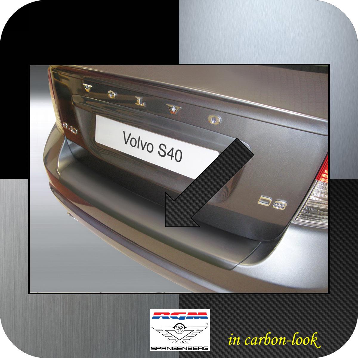 Ladekantenschutz Carbon-Look Volvo S40 II Limousine ab facelift 2007-12 3509549