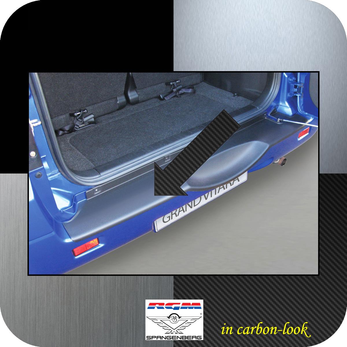 Ladekantenschutz Carbon-Look Suzuki Grand Vitara II Radhalter 2005-2015 3509553