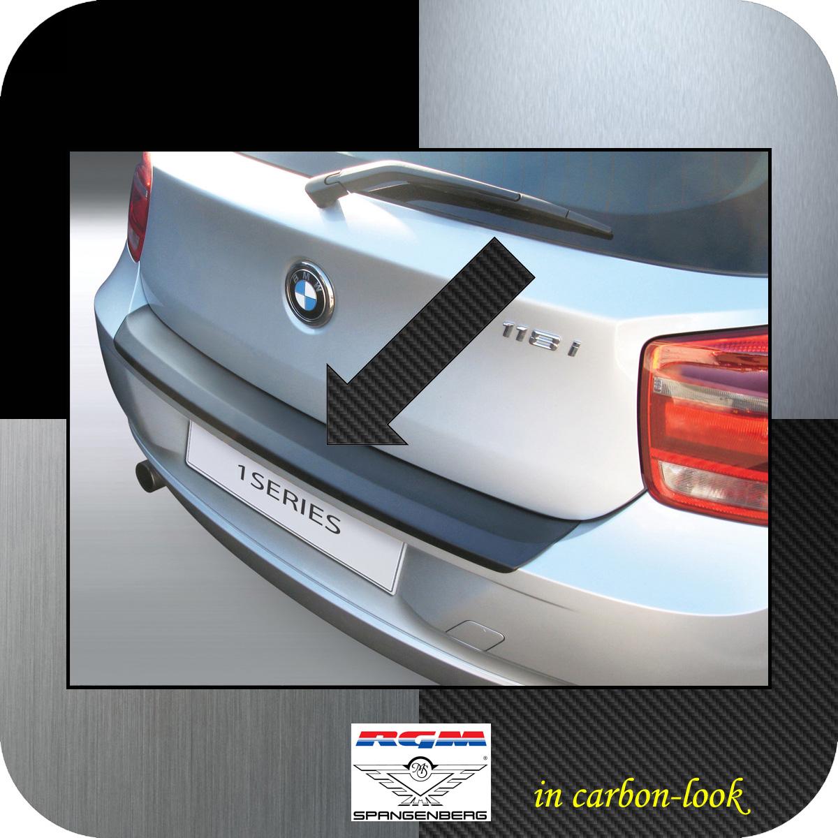 Ladekantenschutz Carbon-Look BMW 1er F21 und F20 vor facelift Bj 2011-15 3509554