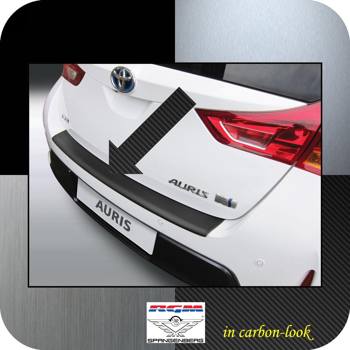 Ladekantenschutz Carbon-Look Toyota Auris II Schrägheck vor Mopf 2012-15 3509620