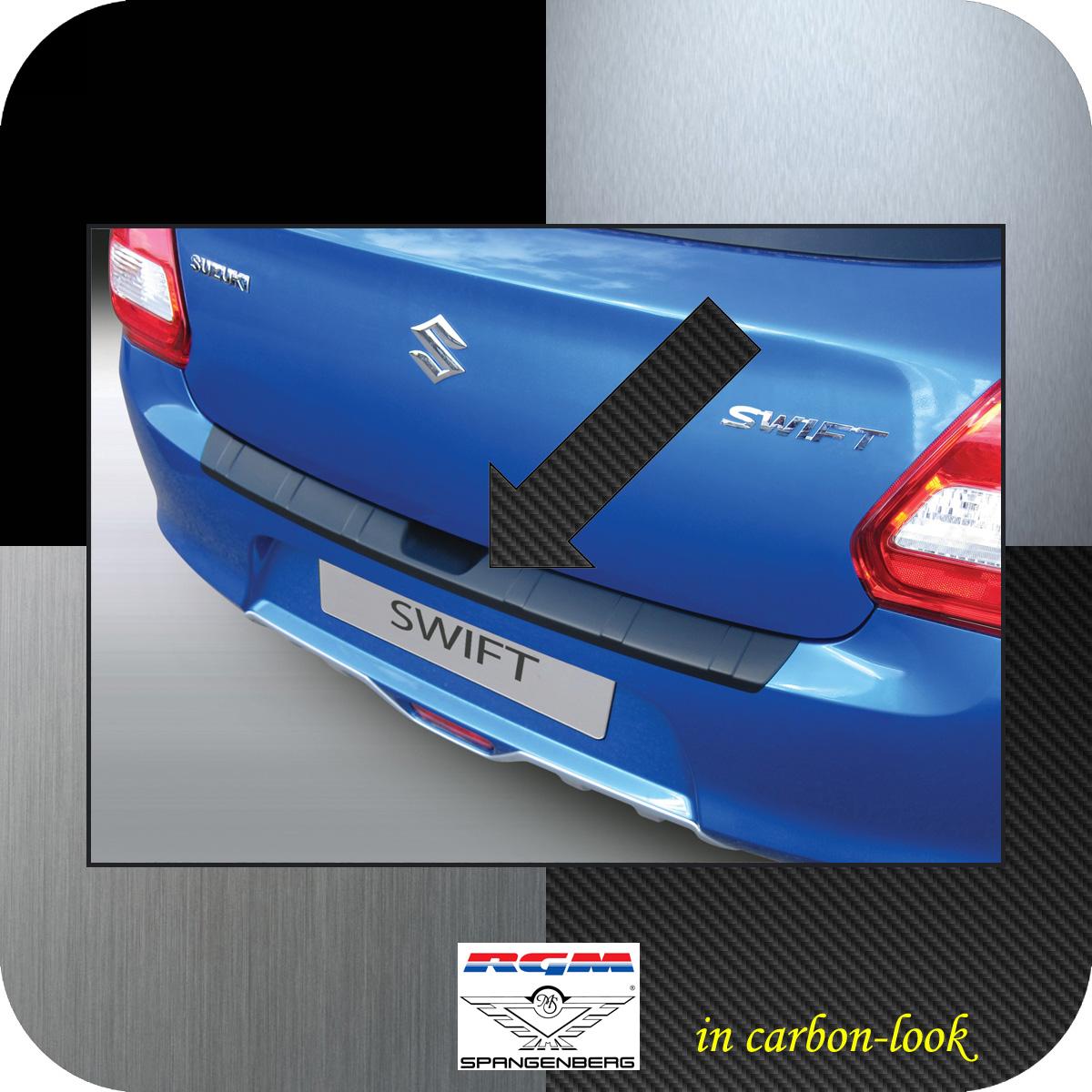 Ladekantenschutz Carbon-Look gerippt Suzuki Swift V Schrägheck ab 2017- 3509671